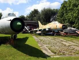 """Su-22M4 (NATO-Code: Fitter-K ): Taktische Nummer 362 war früher in Laage stationiert, beim Jagdbombenfliegergeschwader (JBG 77) 77 """"Gebhard Leberecht von Blücher"""" - kurz:"""