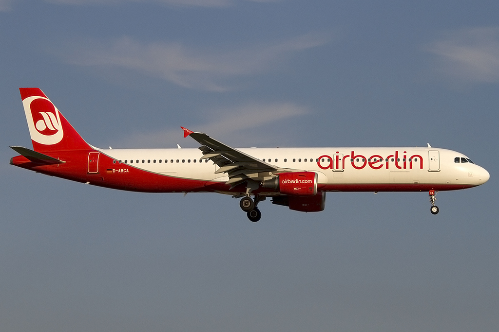 Air Berlin, D-ABCA, Airbus, A321-211, 25.07.2013, DUS, Düsseldorf, Germany
