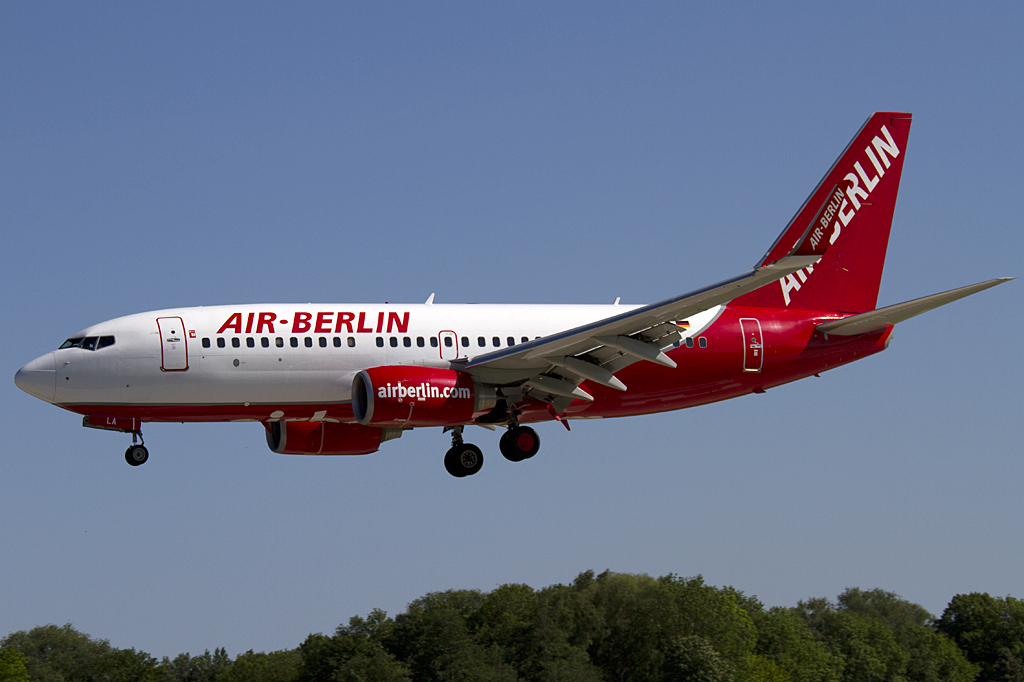 Air Berlin, D-ABLA, Boeing, B737-76J, 03.06.2010, HAM, Hamburg, Germany