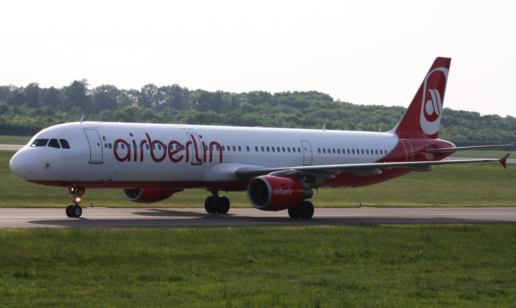 Air Berlin,D-ALSA,(c/n1629),Airbus A321-211,21.05.2012,HAM-EDDH,Hamburg,Germany
