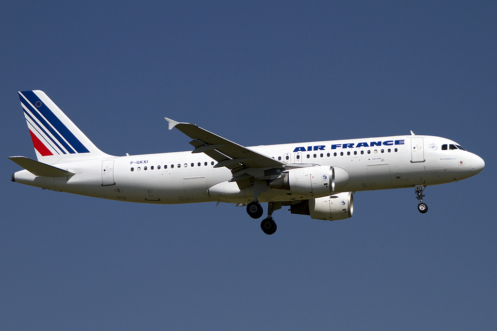 Air France, F-GKXI, Airbus, A320-214, 18.08.2012, CDG, Paris, France