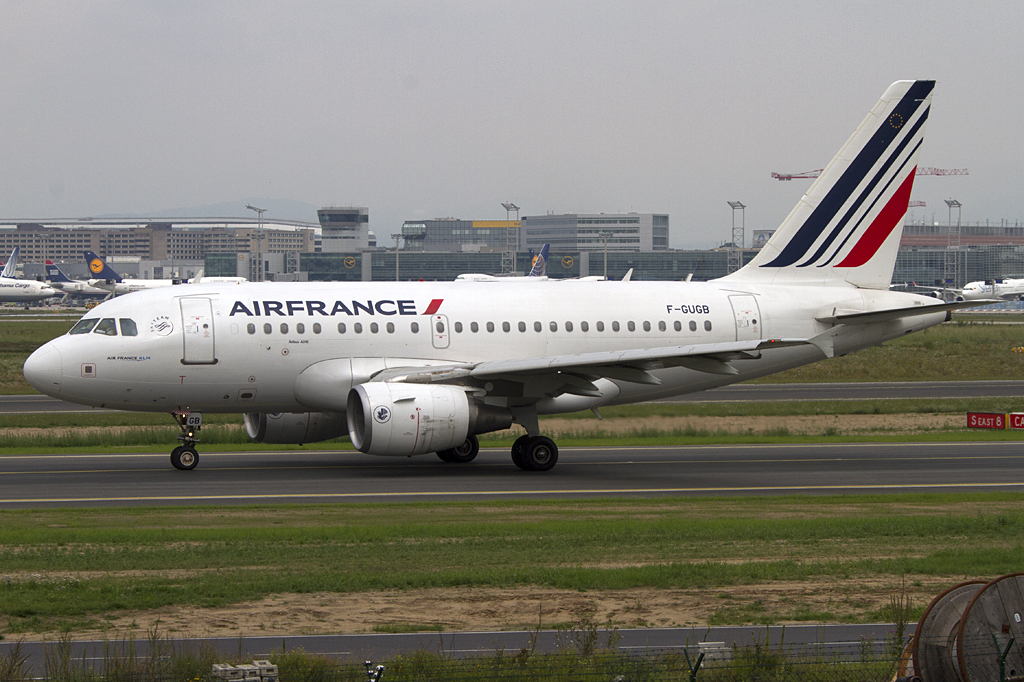Air France, F-GUGB, Airbus, A318-111, 29.07.2011, FRA, Frankfurt, Germany