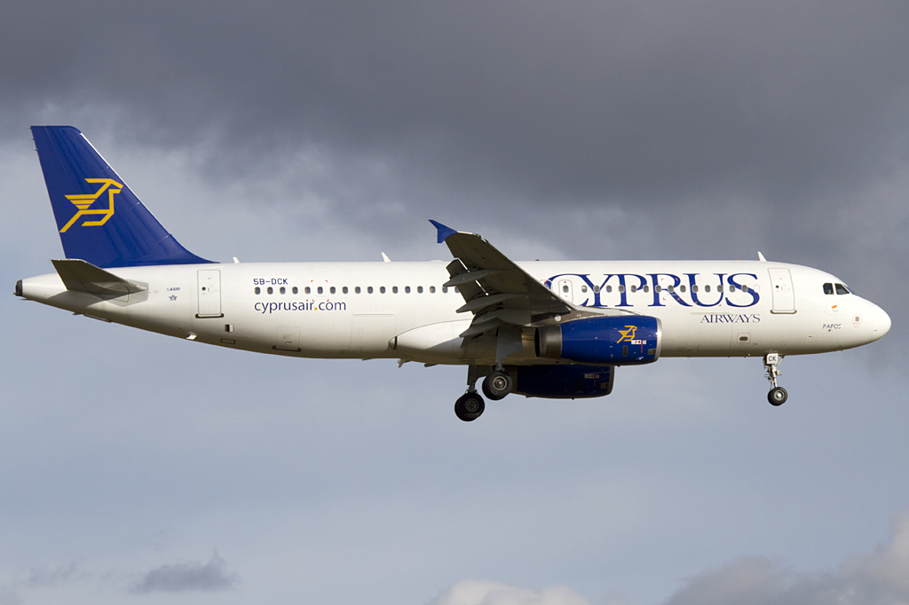 Cyprus Airways, 5B-DCK, Airbus, A320-232, 15.01.2011, ZRH, Zuerich, Switzerland
