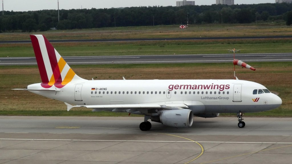 D-AKNG Germanwings Airbus A319-112 14.07.2013 Berlin-Tegel ...