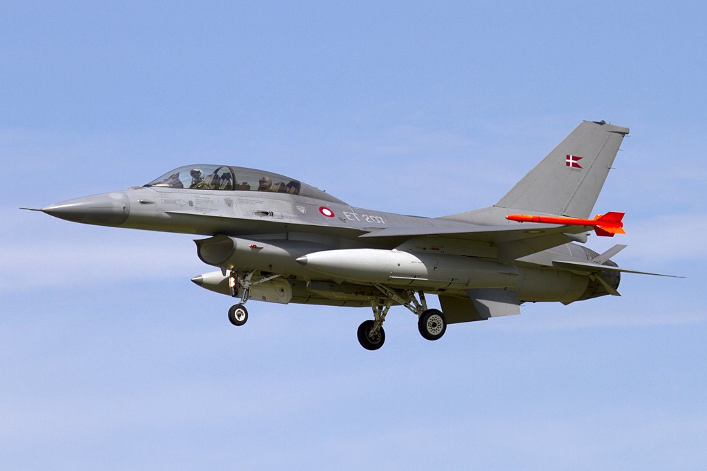 Denmark - Air Force, ET-207, Sabca, F-16B Fighting Falcon, 06.06.2010, EKSP, Skrydstrup, Denmark