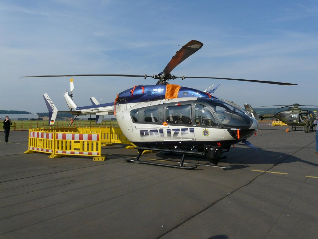 Landespolizei - Helicopter Database