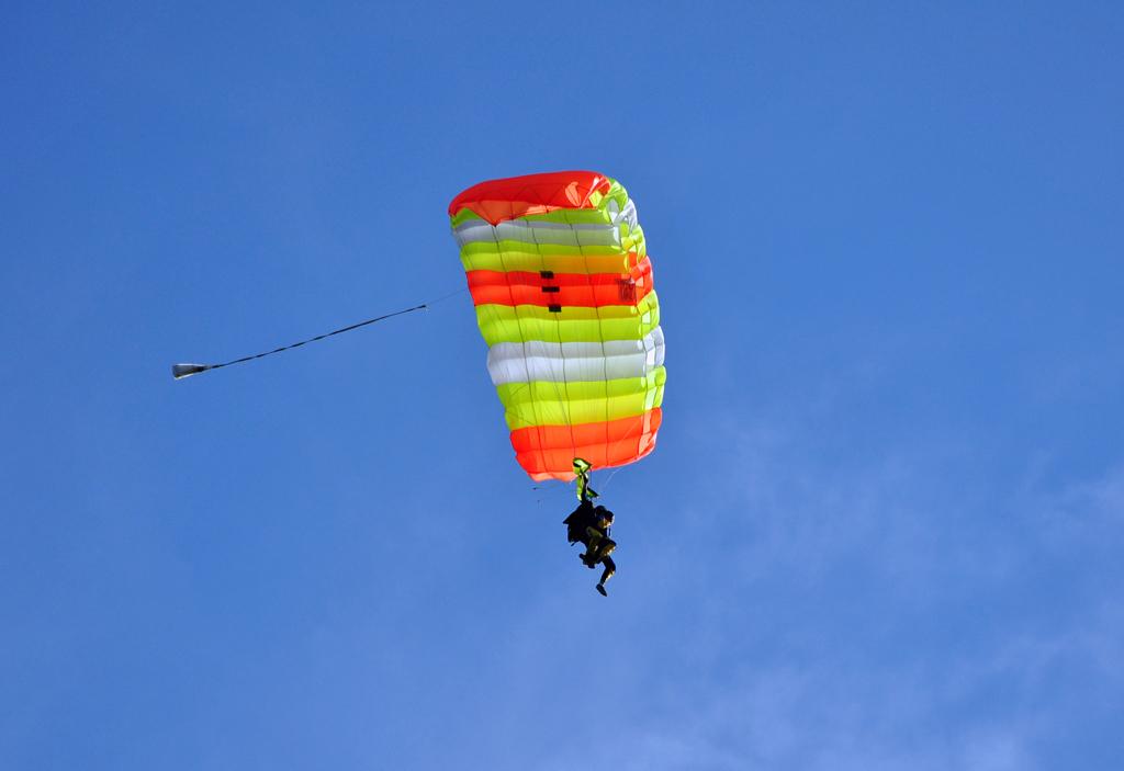 Fallschirm-Tandemsprung am Flugplatz Leutkirch/Allgäu - 21