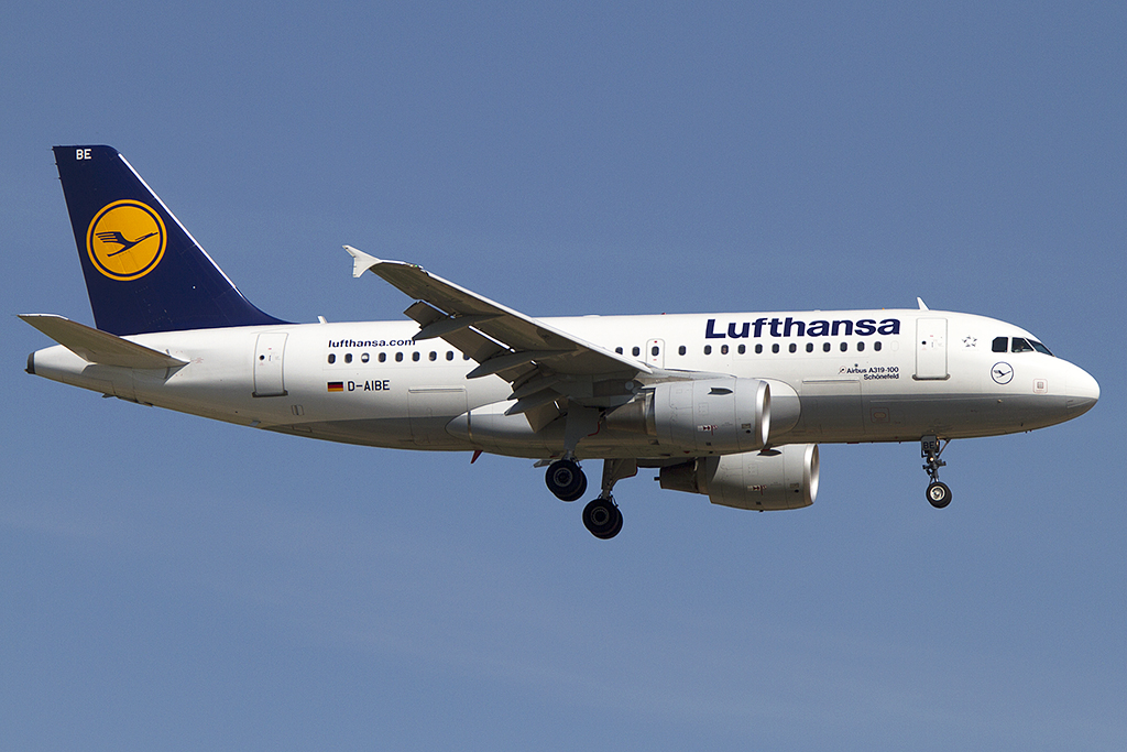 Lufthansa, D-AIBE, Airbus, A319-112, 26.05.2012, FRA, Frankfurt, Germany