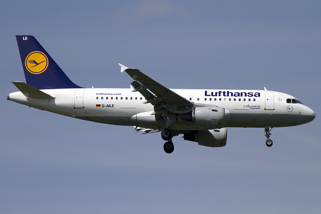 Lufthansa, D-AILE, Airbus, A319-114, 29.04.2011, MUC, Muenchen, Germany