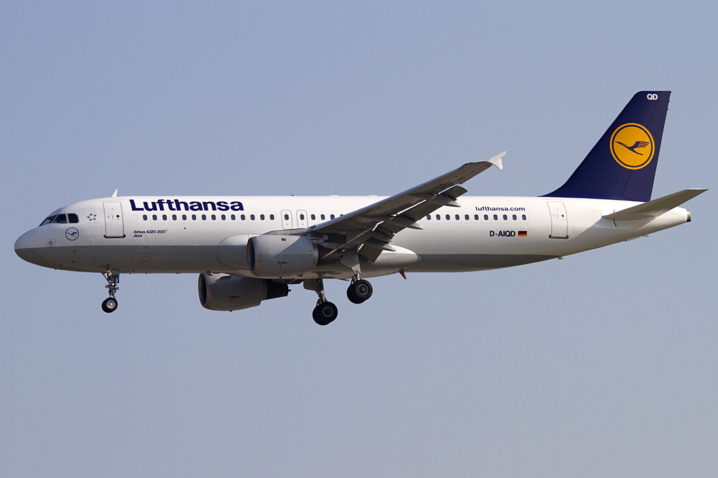 Lufthansa, D-AIQD, Airbus, A320-211, 24.06.2010, FRA, Frankfurt, Germany