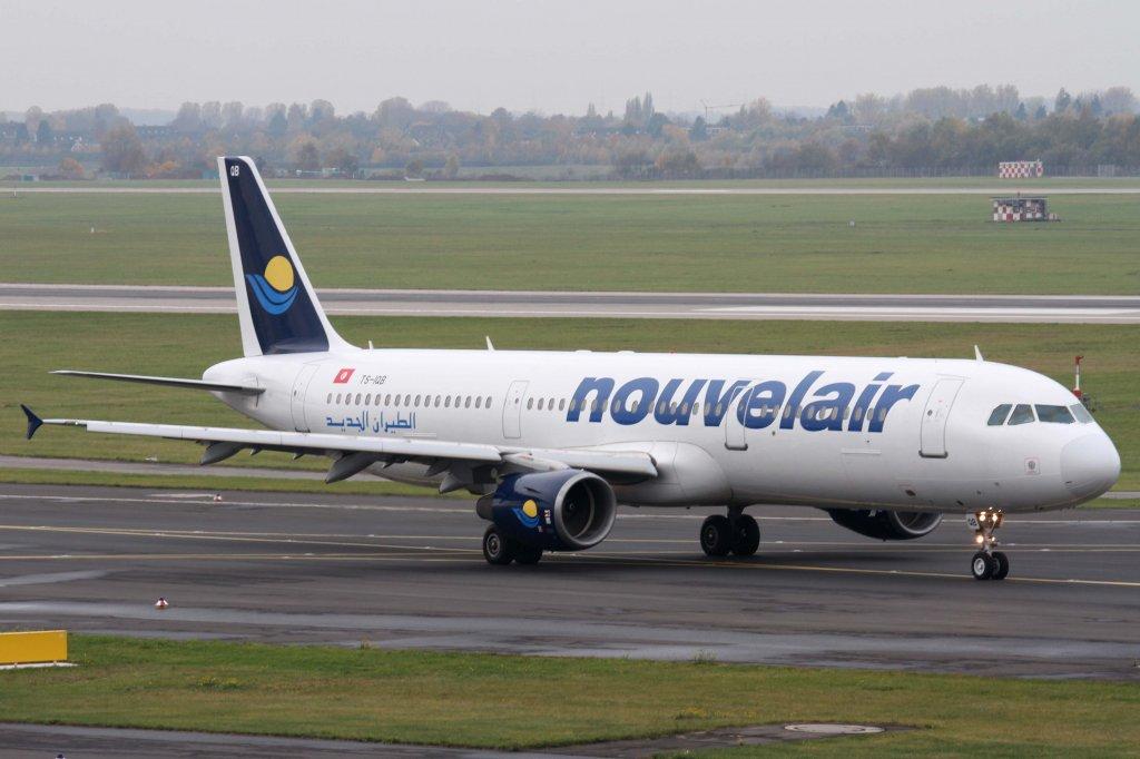 Nouvelair Tunesie, TS-IQB, Airbus, A 321-200, 10.11.2012