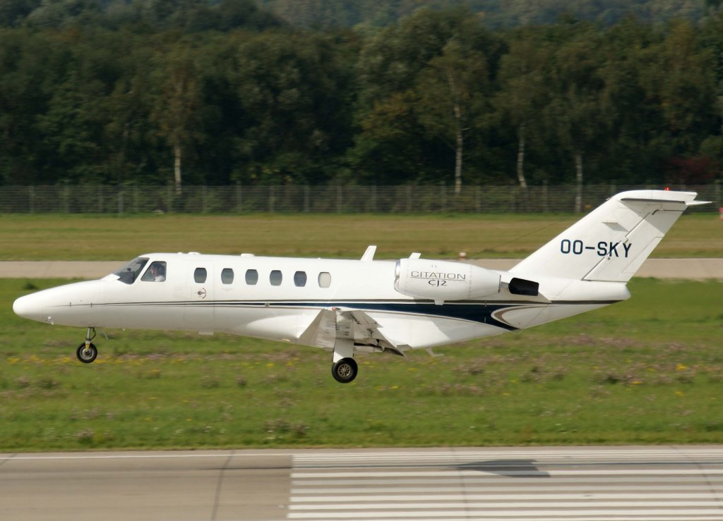 OO-SKY, Cessna 525 A Citation CJ-2, 2010.09.23, DUS-EDDL, Düsseldorf, Germany