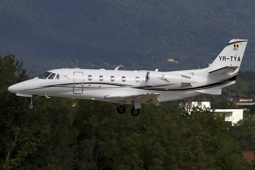 Private, YR-TYA, Cessna, 560XLS Citation Excel, 04.08.2012, GVA, Geneve, Switzerland