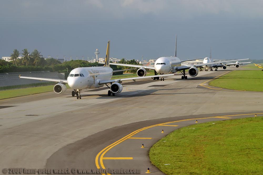 Singapur Abflug
