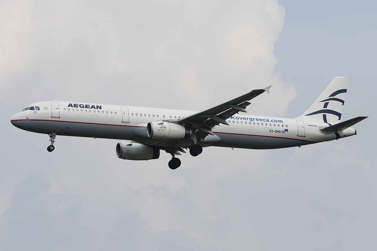 Aegean Airlines, SX-DNG, Airbus, A321-231, 06.09.2018, MXP, Mailand, Italy