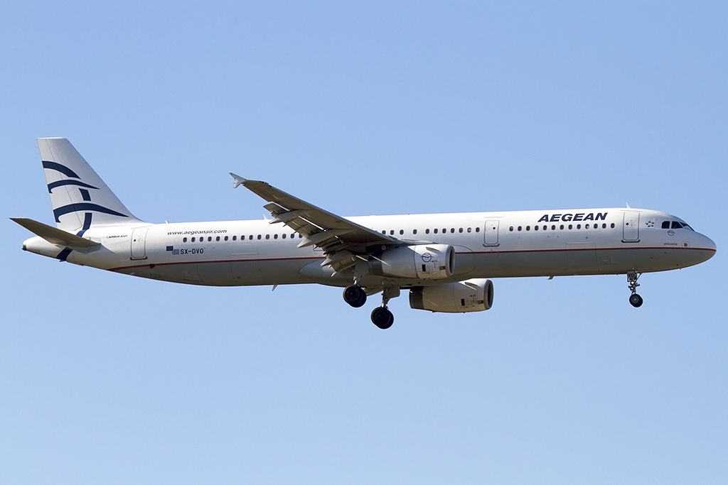 Aegean Airlines, SX-DVO, Airbus, A321-232, 05.09.2013, FRA, Frankfurt, Germany
