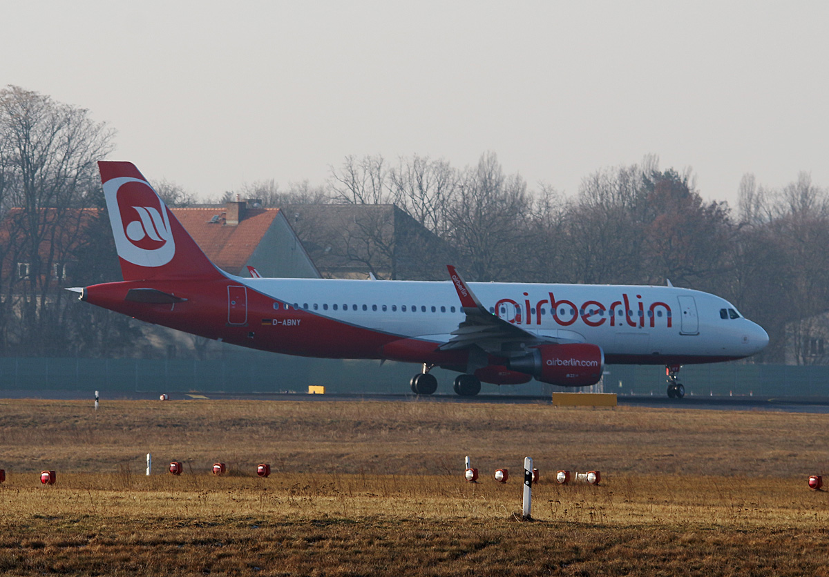 Air Berlin, Airbus A 320-214, D-ABNY, TXL, 29.01.2017