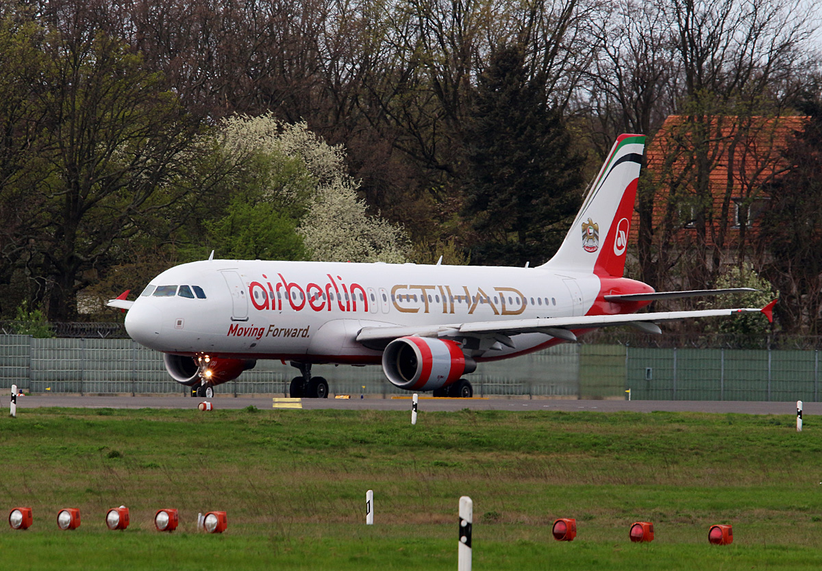 Air Berlin, Airbus A 320-214, D-ABDU, TXL, 14.04.2017