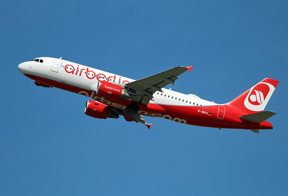 Air Berlin, Airbus A 320-214, D-ABFG, DUS, 17.05.2017