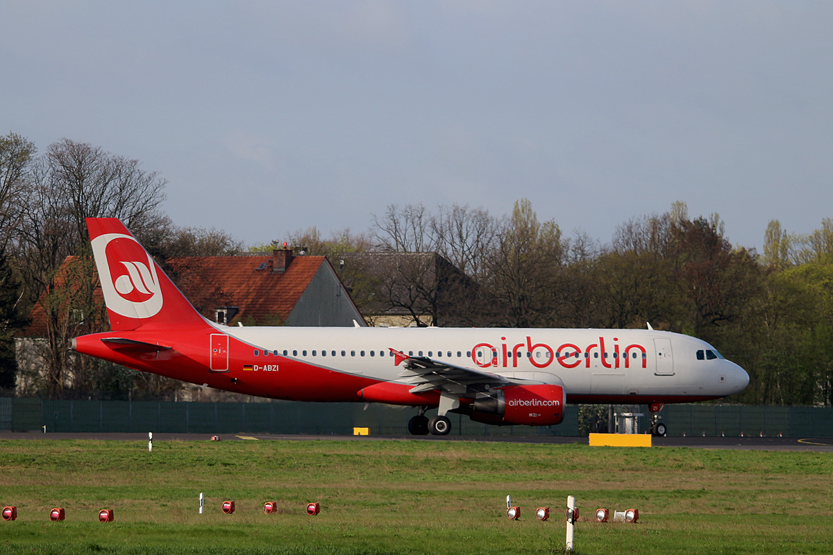 Air Berlin, Airbus A 320-216, D-ABZI, TXL, 25.05.2017