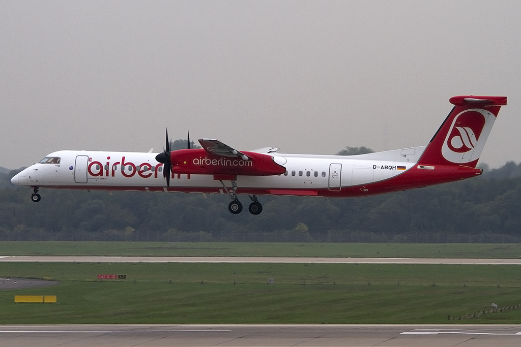 Air Berlin, D-ABQH, deHavilland, DHC-8-402Q, 08.10.2013, DUS, Düsseldorf, Germany