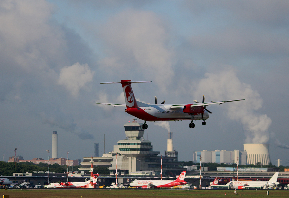 Air Berlin, DHC-8-402Q, D-ABQA, TXL, 17.05.2017