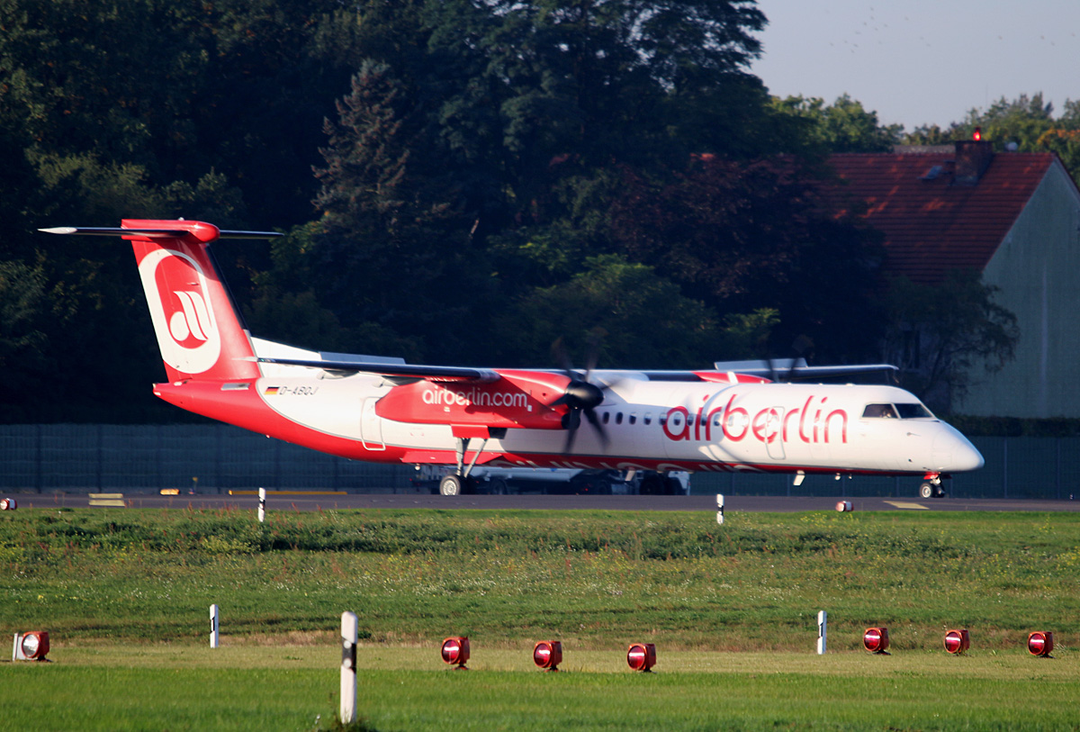 Air Berlin, DHC-8-402Q, D-ABQJ, TXL, 23.09.2017