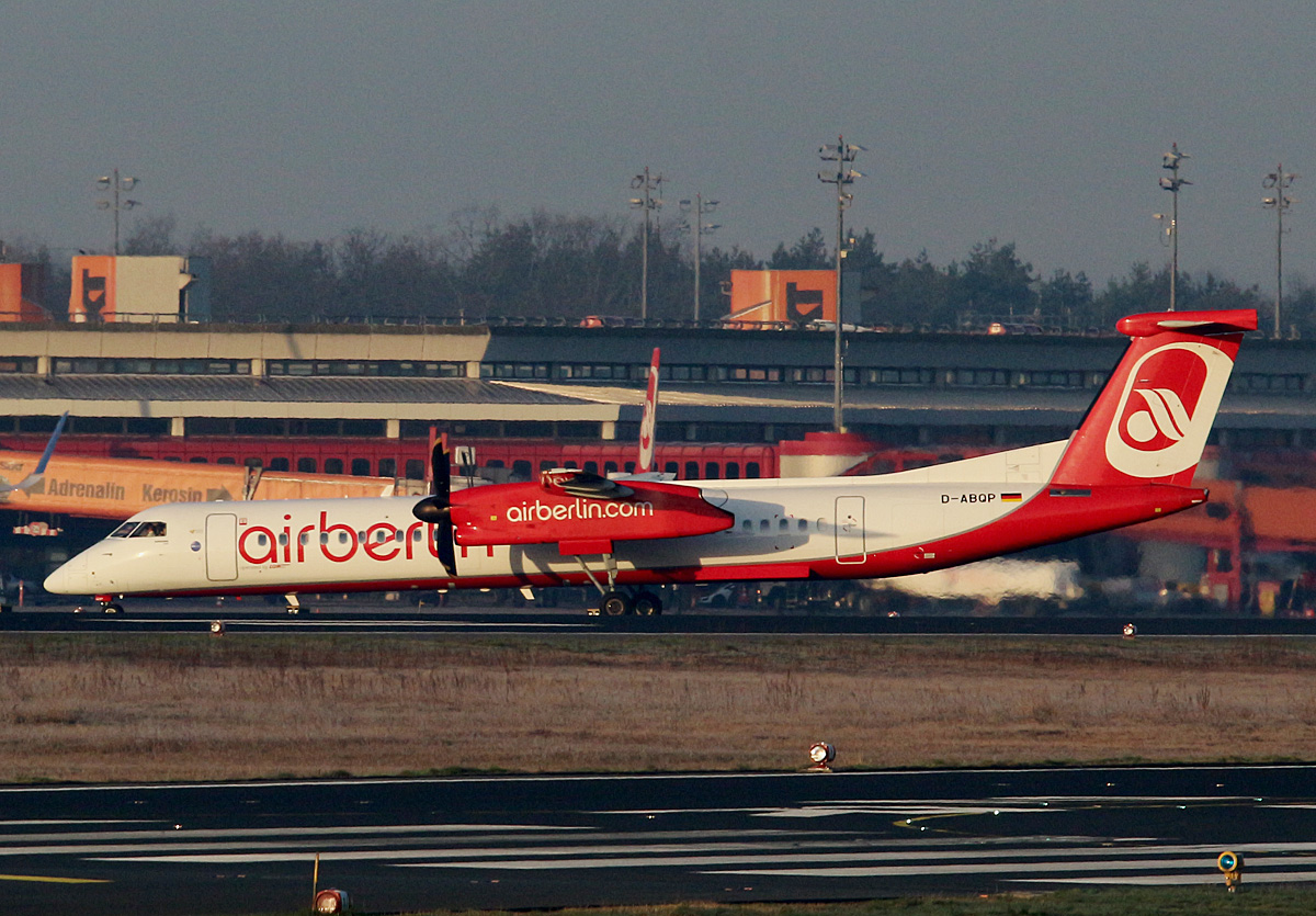 Air Berlin, DHC-8-402Q, D-ABQP, TXL, 26.03.2017
