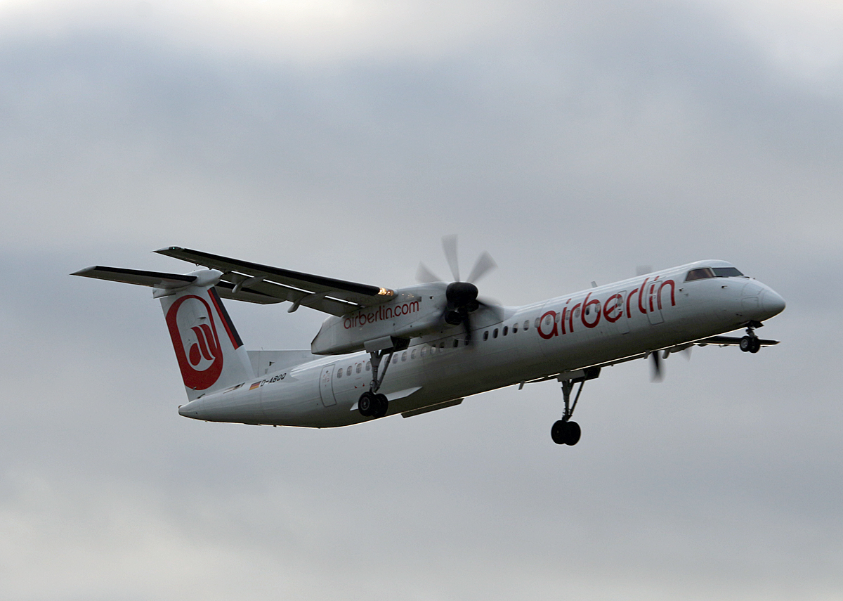 Air Berlin, DHC-8-402Q, D-ABQQ, TXL, 12.09.2017
