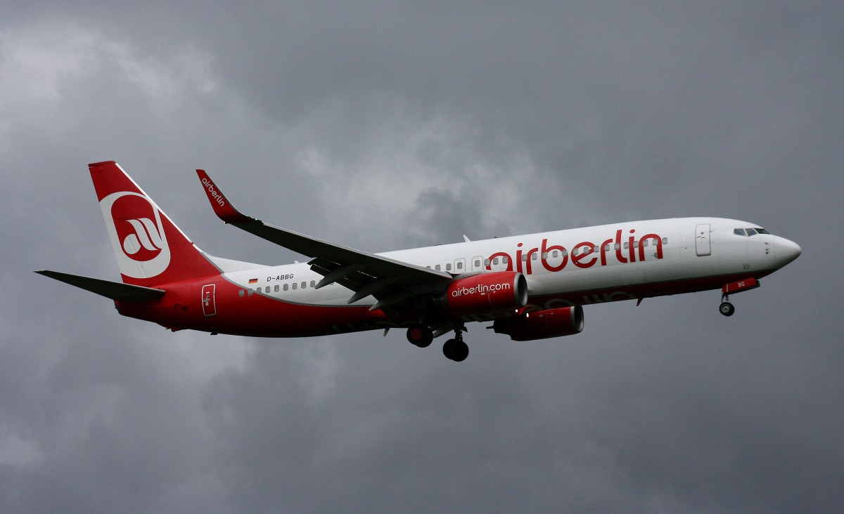 Air Berlin,D-ABBG,(c/n 32918),Boeing 737-86J(WL),09.05.2014,HAM-EDDH,Hamburg,Germany