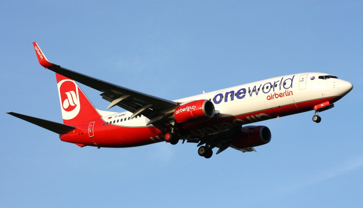 Air Berlin,D-ABMC,(c/n37752),Boeing 737-86J(WL),03.10.2013,HAM-EDDH,Hamburg,Germany(Bemalung:ONE WORLD)