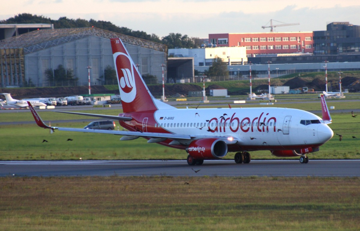 Air Berlin,D-AHXG,(c/n35140),B737-7K5(WL),26.09.2013,HAM-EDDH,Hamburg,Germany
