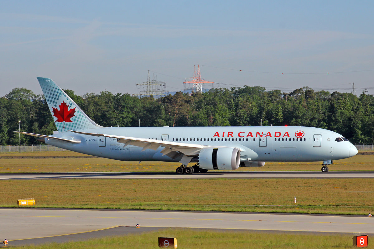 Air Canada, C-GHPX, Boeing 787-8, 21.Mai 2017, FRA Frankfurt am Main, Germany.