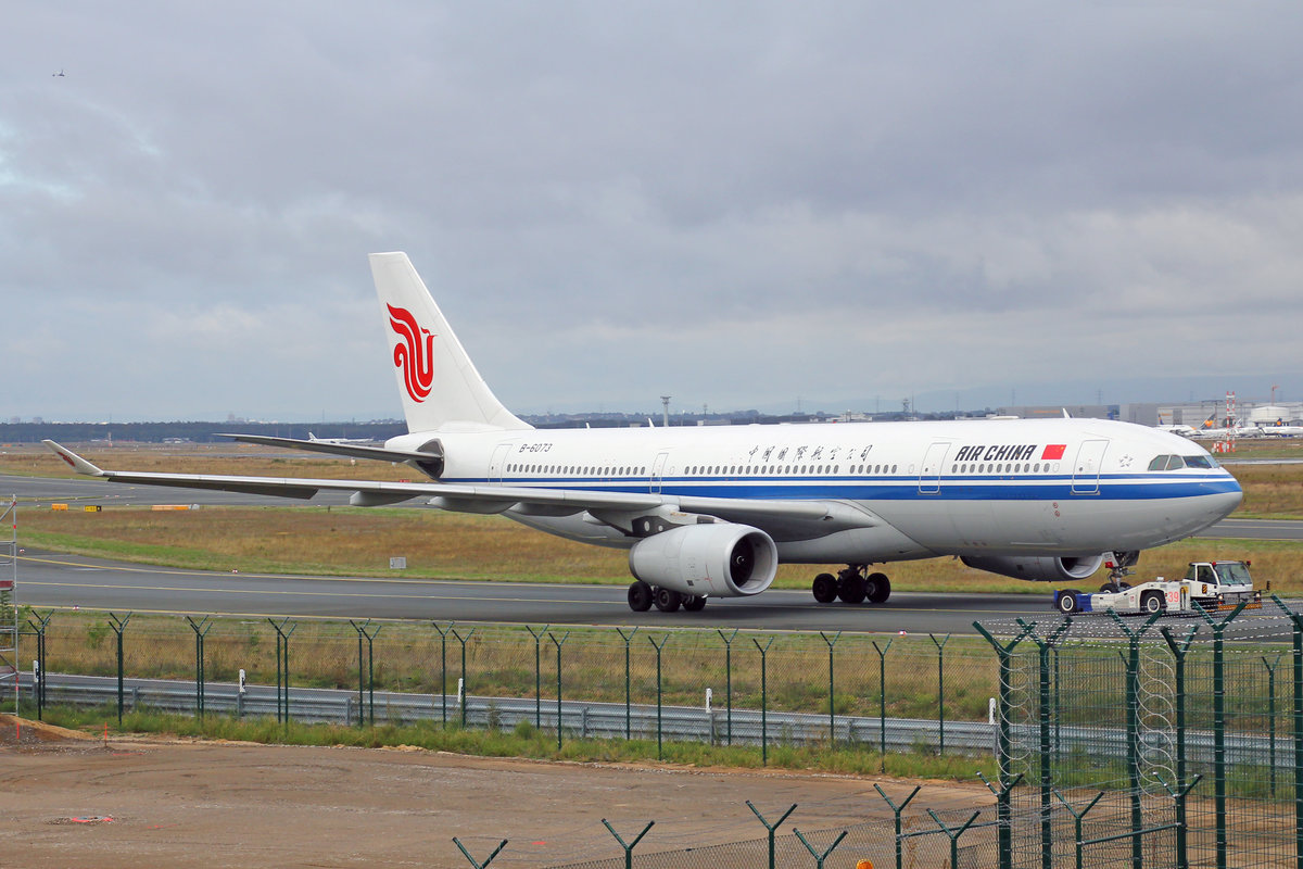 Air China, B-6073, Airbus A330-243, msn: 780, 28,September 2019, FRA Frankfurt, Germany.