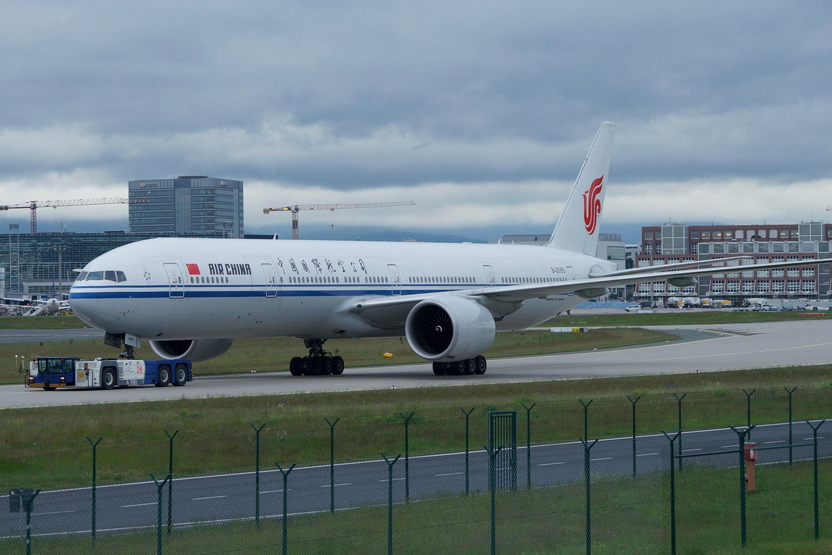 Air China Boeing B777-39L(ER) B-2085, cn(MSN): 38666,