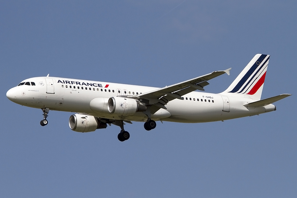Air France, F-GHQJ, Airbus, A320-211, 05.06.2014, TLS, Toulouse, France