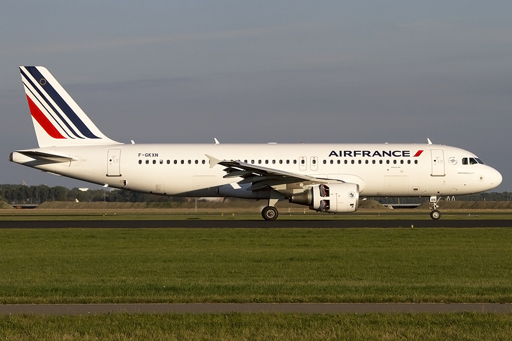 Air France, F-GKXN, Airbus, A320-214, 06.10.2013, AMS, Amsterdam, Netherlands