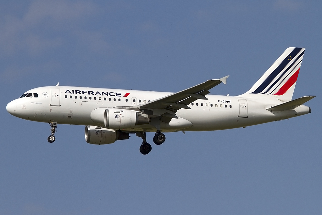 Air France, F-GPMF, Airbus, A319-113, 05.06.2014, TLS, Toulouse, France