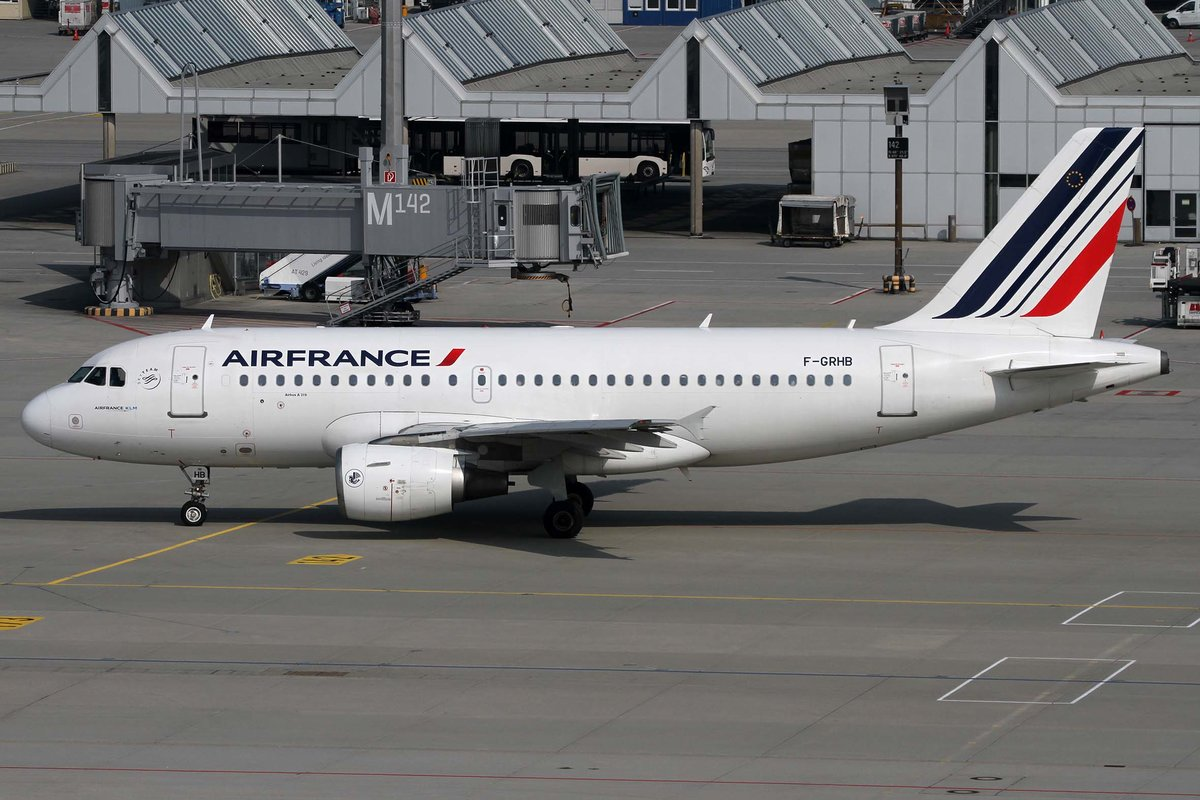 Air France, F-GRHB, Airbus, A 319-111, MUC-EDDM, München, 05.09.2018, Germany