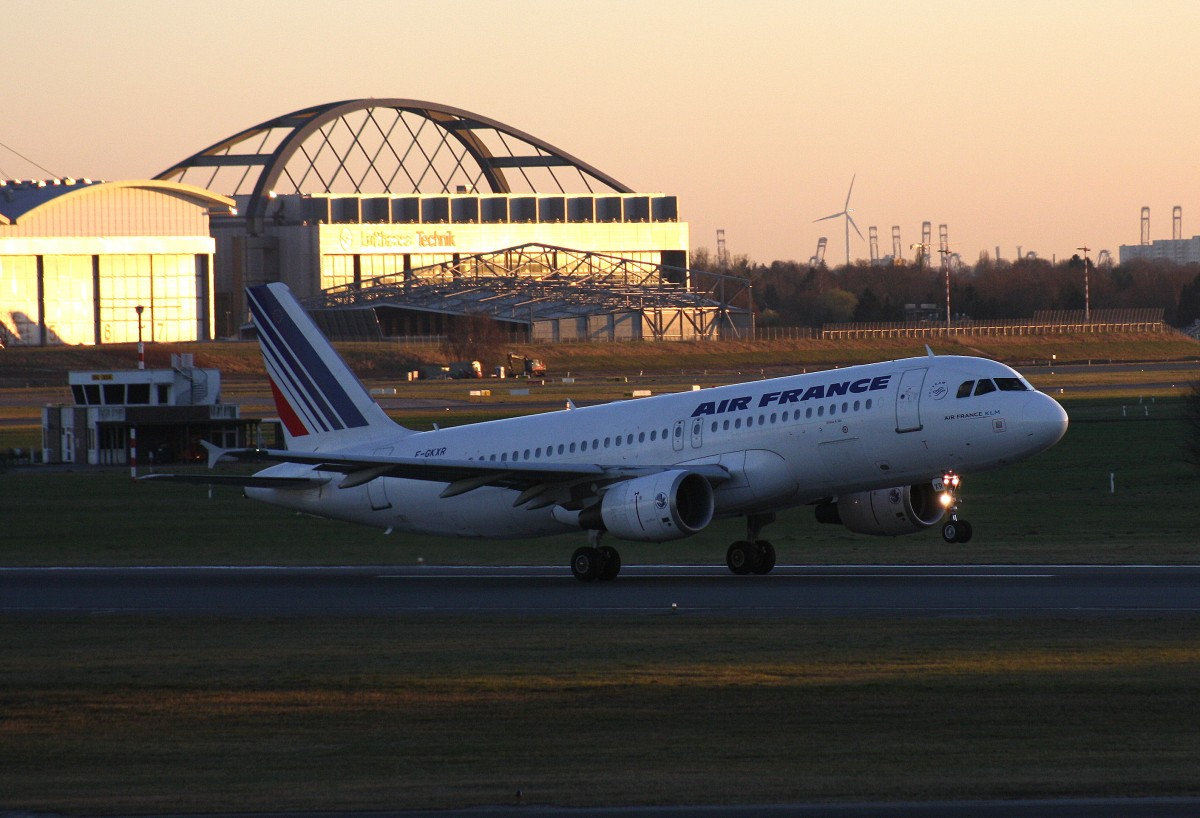 Air France,F-GKXR,(c/n3795),Airbus A320-214,11.03.2014,HAM-EDDH,Hamburg,Germany