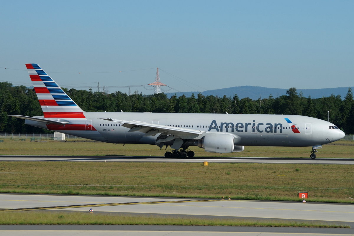 American Airlines Boeing B777-223(ER) N780AN, cn(MSN): 29956,