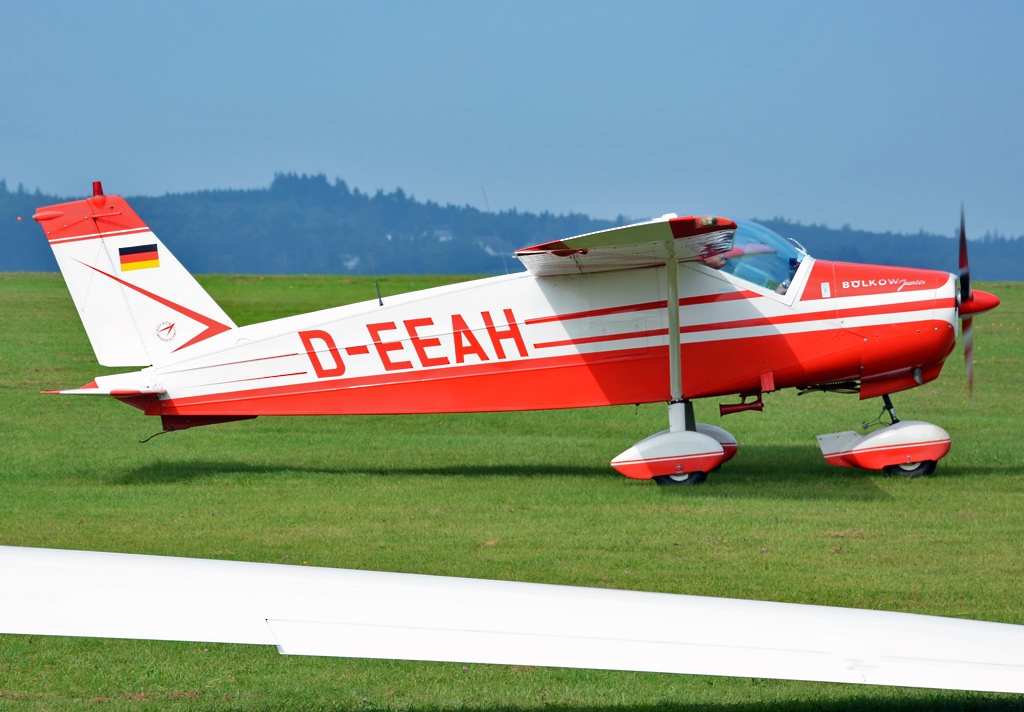 Bölkow Bo-208 C Junior D-EEAH, taxy at Wershofen - 07.09.2014