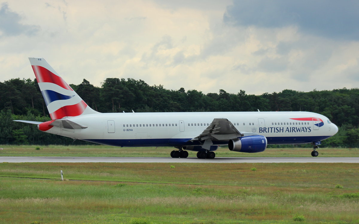 British Airways, G-BZHA, MSN 29230, Boeing 767-336(ER), 046.2017, FRA-EDDF, Frankfurt, Germany