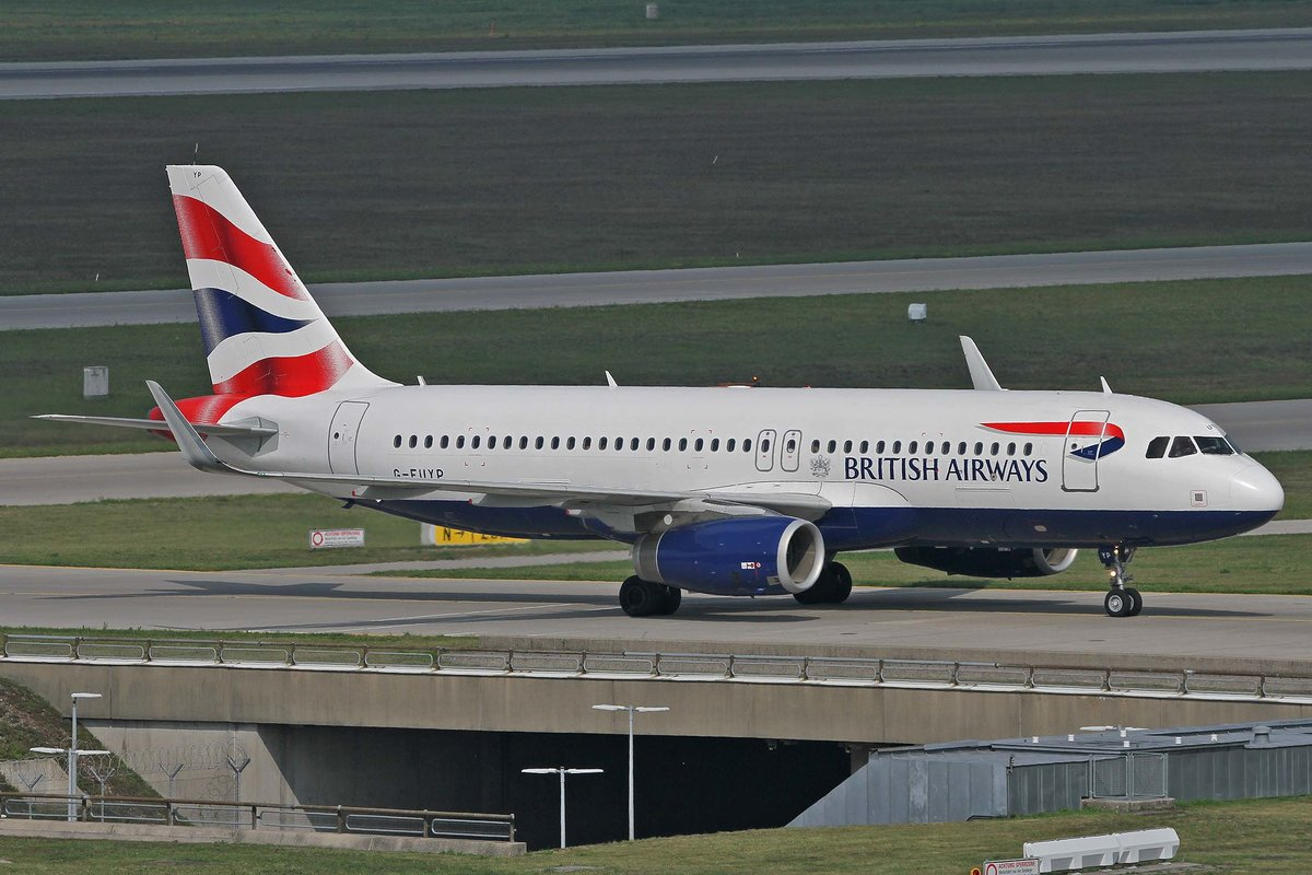 British Airways, G-EUYP, Airbus, A 320-232 sl, MUC-EDDM, München, 05.09.2018, Germany