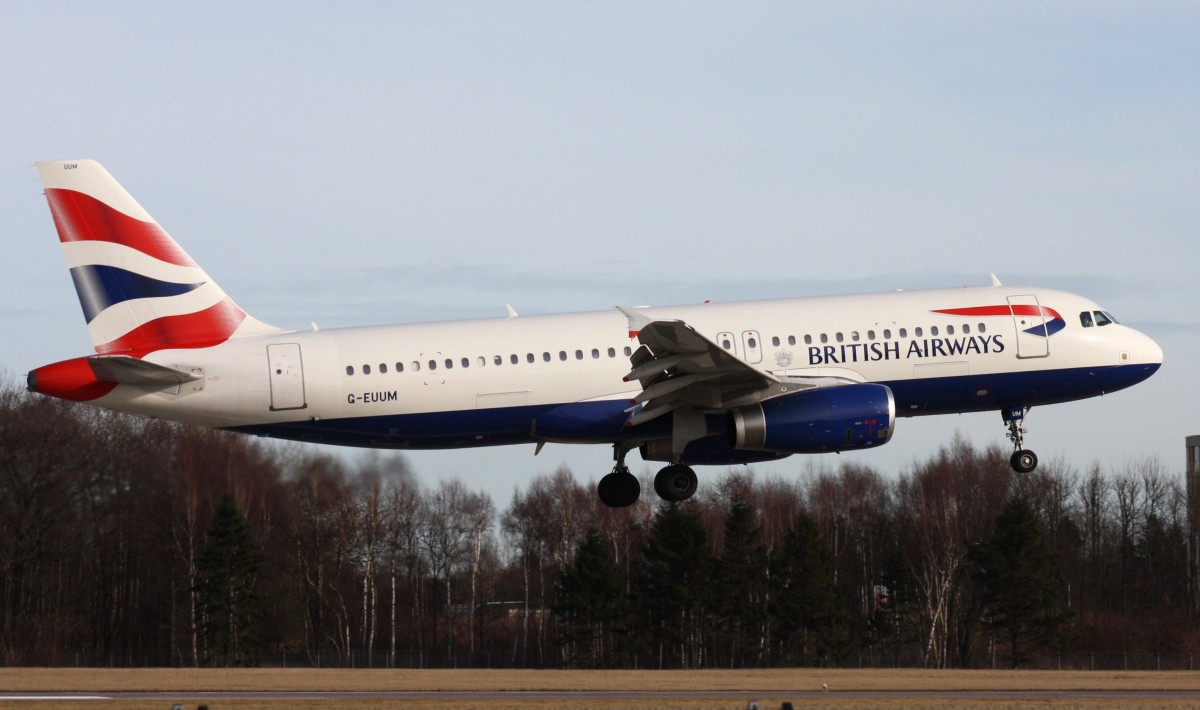 British Airways,G-EUUM,(c/n1907),Airbus A320-232,10.02.2014,HAM-EDDH,Hamburg,Germany