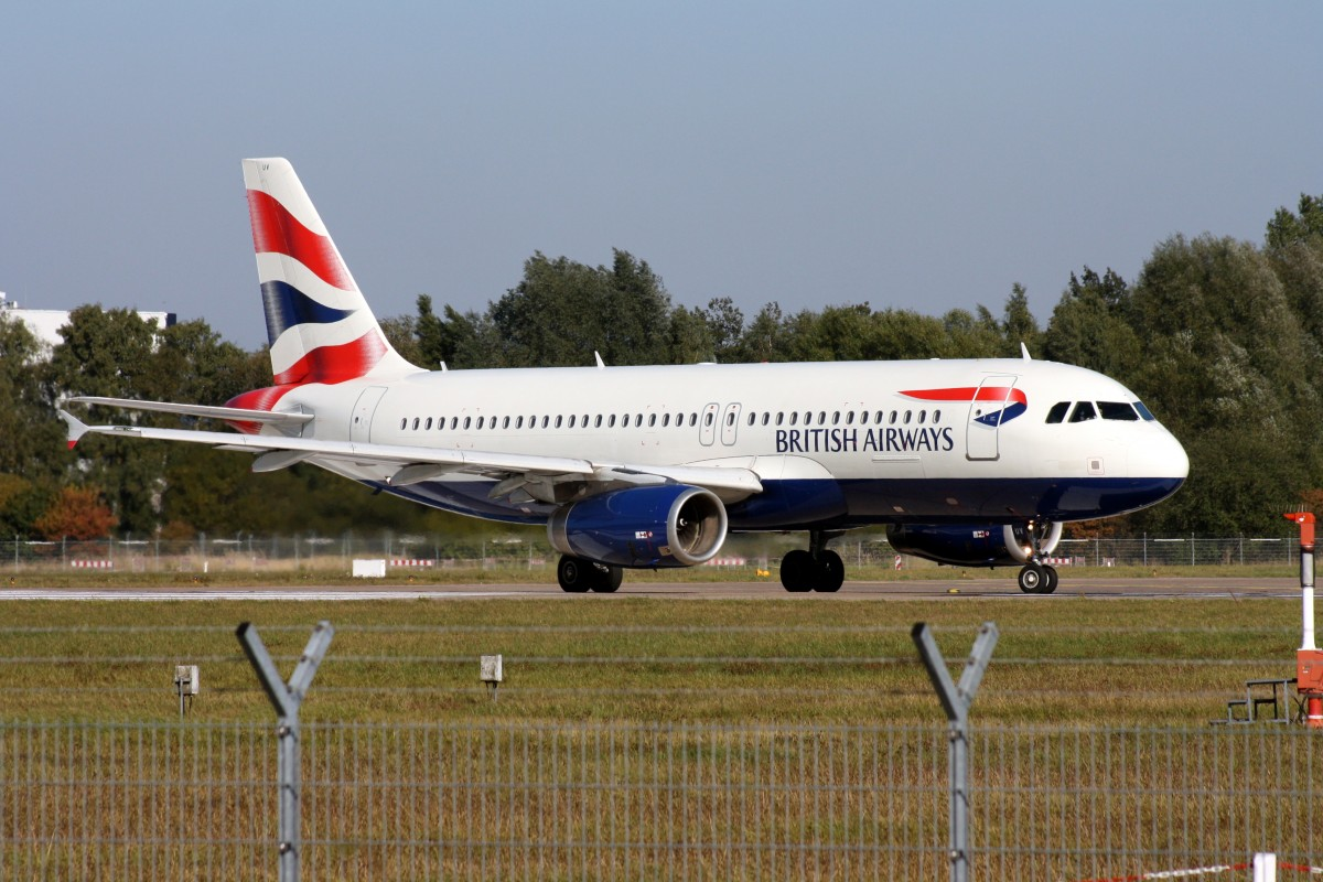 British Airways,G-EUUV,(c/n3468),Airbus A320-232,03.10.2013,HAM-EDDH,Hamburg,Germany