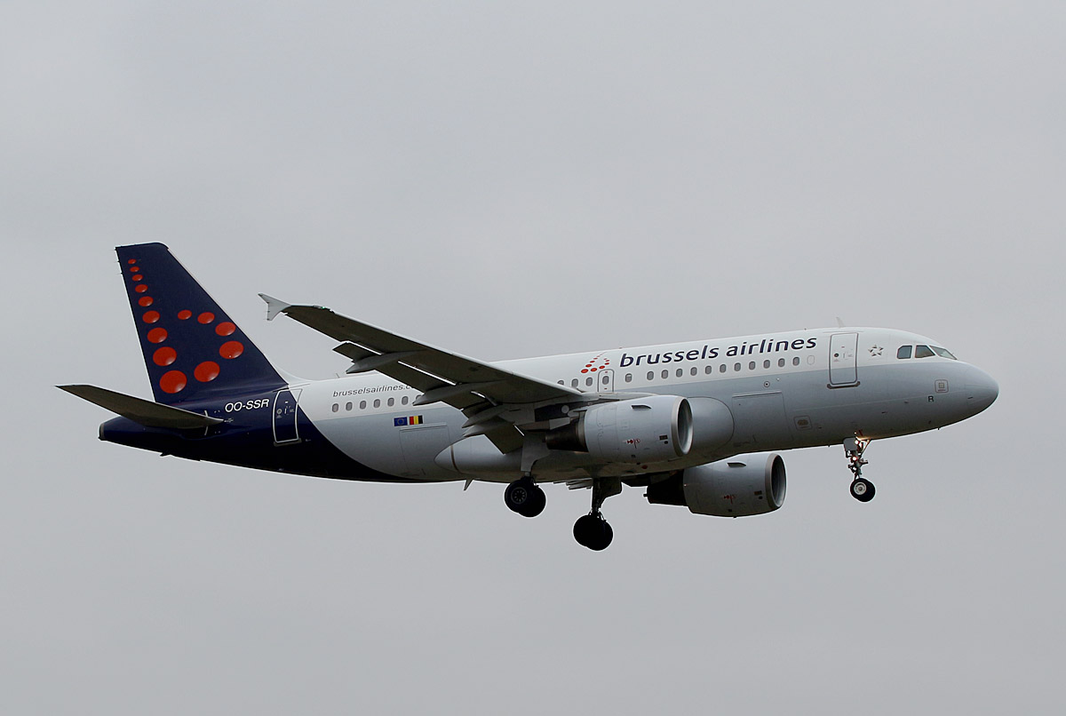 Brussels Airlines, Airbus A 319-112, OO-SSR, TXL, 02.03.2019