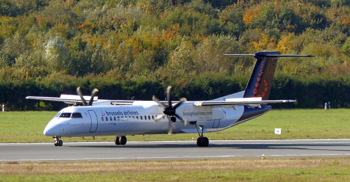 Brussels Airlines (Flybe) De Havilland Canada DHC-8-402Q. HAM 14.10.2013