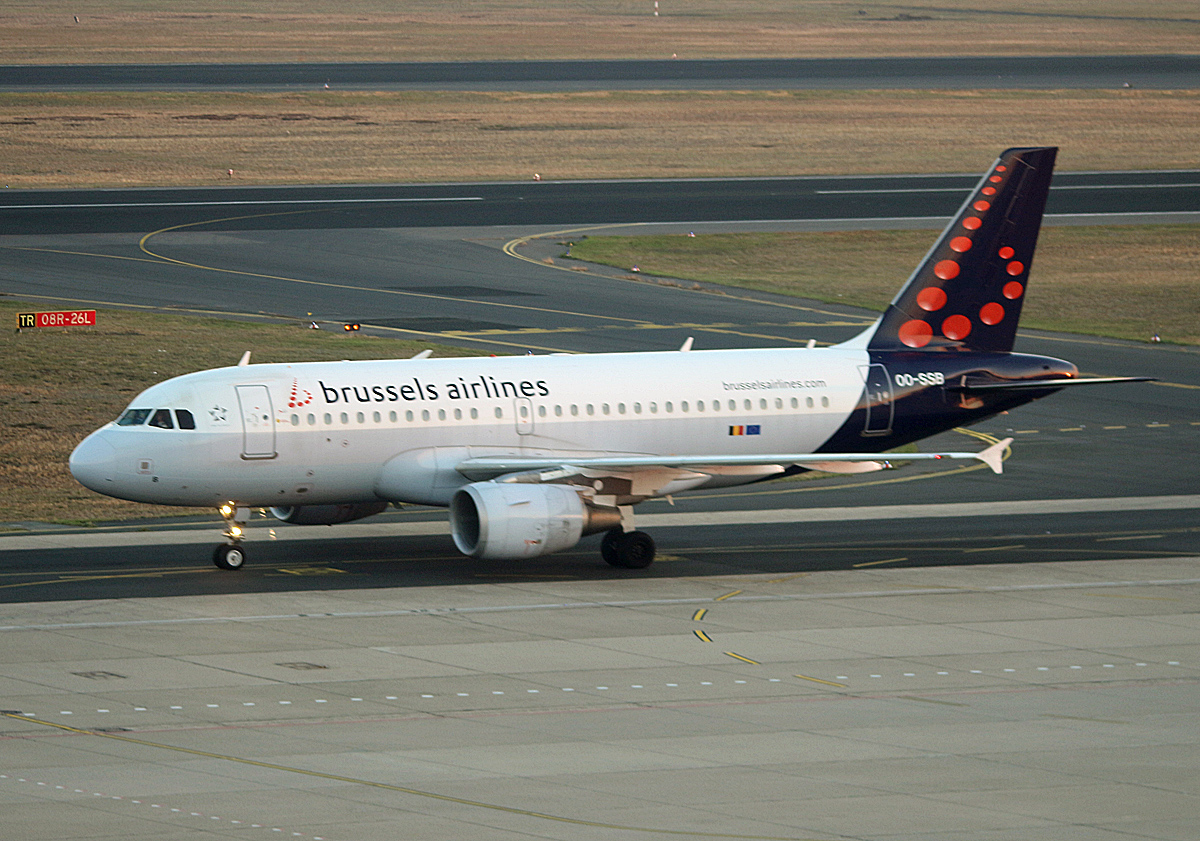 Brussles Airlines, Airbus A 319-111, OO-SSB, TXL, 11.10.2018