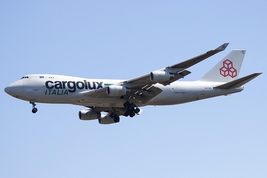 Cargolux italia lx ycv boeing b747 4r7f for B b italia carugo